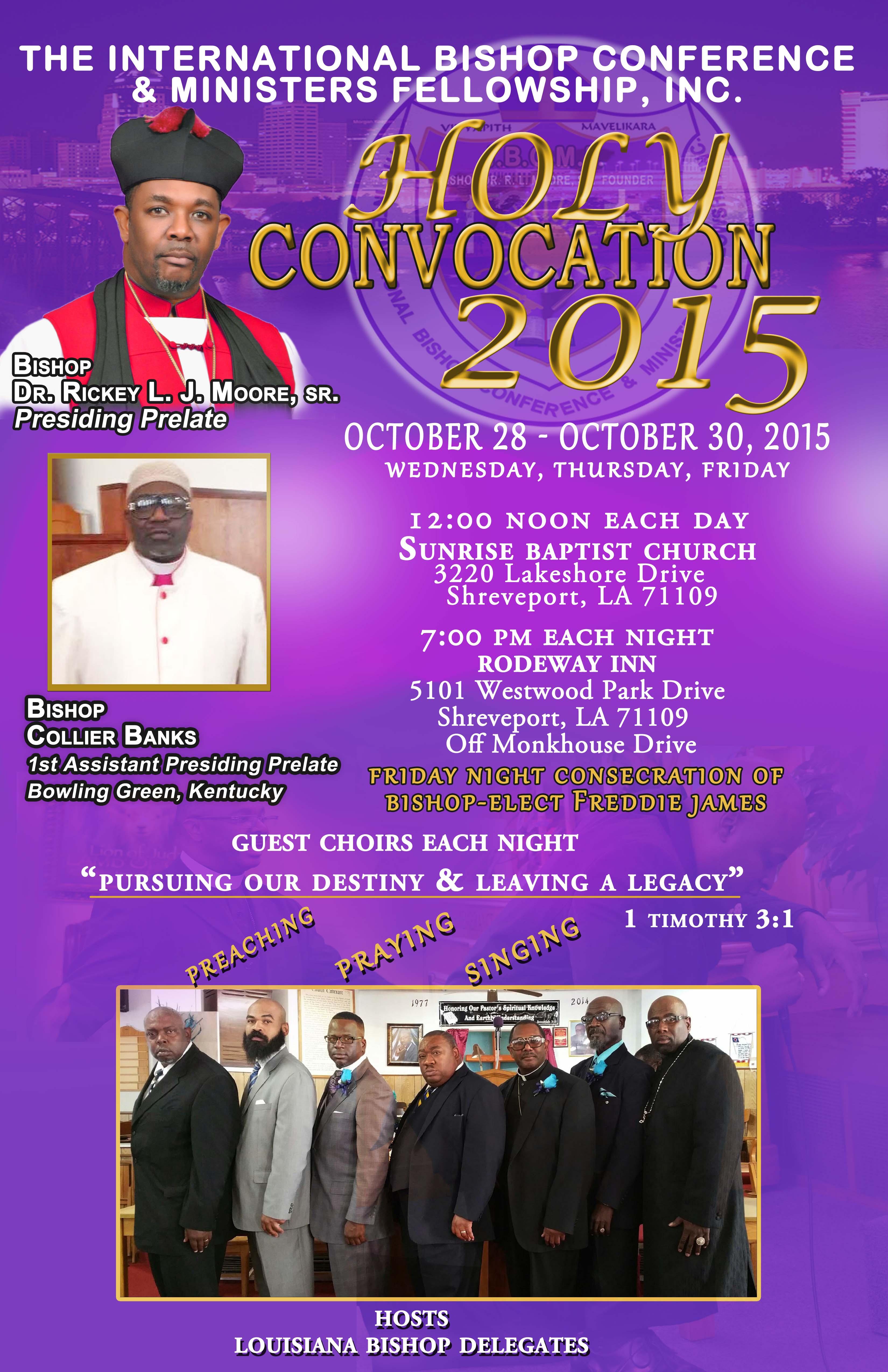 holy convocation 2015
