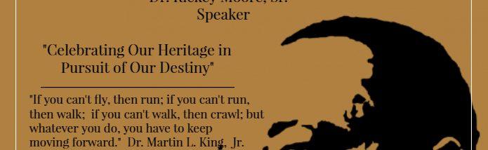 dr king program cover for gold paper